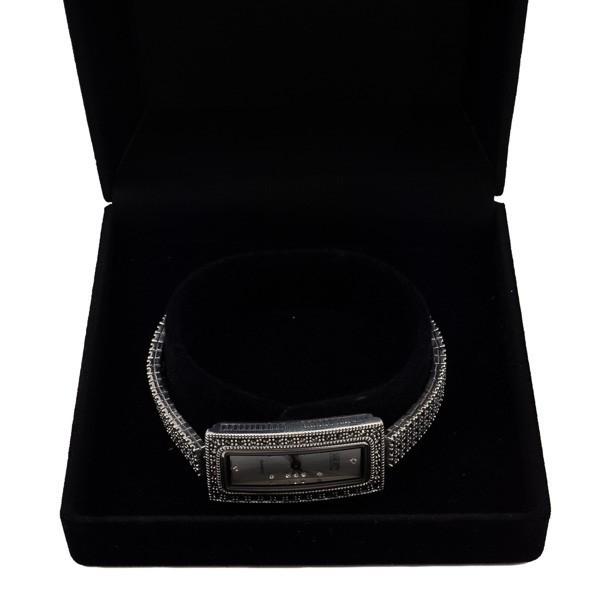 Elegantiškas sidabrinis laikrodis WSA110 dėžutėje