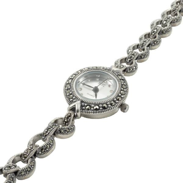 Sidabrinis minimalistinio stiliaus laikrodis WSA104