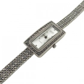 Elegantiškas sidabrinis laikrodis WSA110